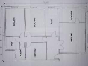 Piso en alquiler en Plaza Reial, nº 9