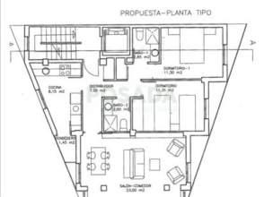 Apartamento en venta en calle Pino