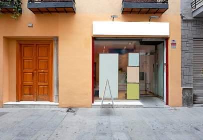 Commercial space in calle de la Cruz