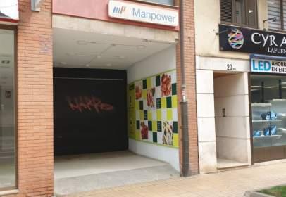 Local comercial en calle de la Tejera, nº 22