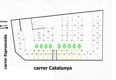 Garatge a calle Espronceda, nº 46