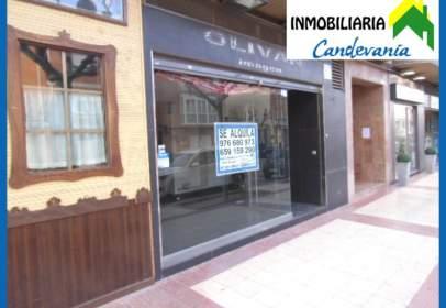 Local comercial en Avenida de la Candevania, nº 20