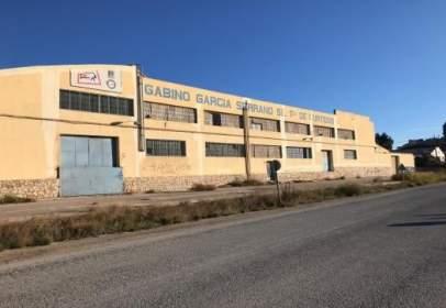 Nave industrial en Carretera Pantano de Puentes (Diputacion de Rio)
