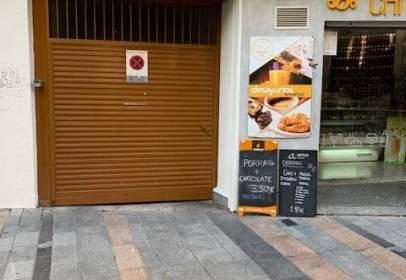 Garaje en calle de Ángel de Saavedra, nº 10