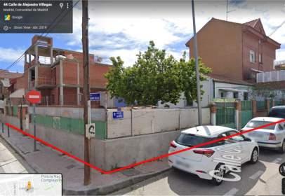 Terreno en calle Alejandro Villegas, nº 47